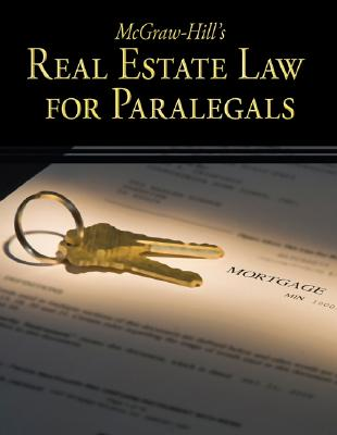 McGraw Hill's Real Estate Law for Paralegals By Schaffer, Lisa/ Wietecki, Andrew